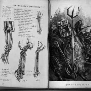 "Jens Maria Weber's ""Codex Roboticus"" Booklaunch at ACUD,21/11/2014"