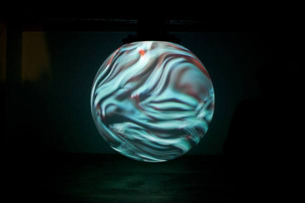 """Anima 2"", installation view, by Onformative with Nick Verstand and Frouke Ten Velden"